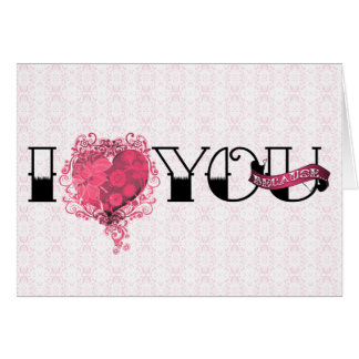I love you because... card