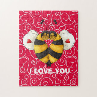 I Love You Bee Puzzle