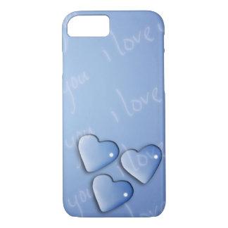 I Love You Blue iPhone 8/7 Case