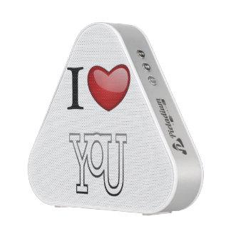 I Love You Bluetooth Speaker