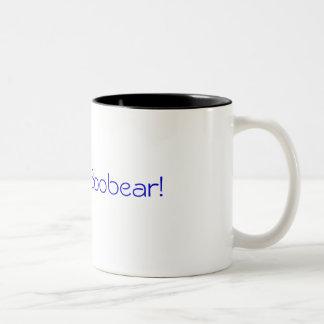I love you Boobear! Two-Tone Coffee Mug