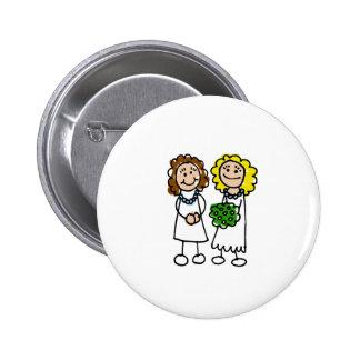 I Love You Brides 2 Inch Round Button