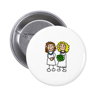 I Love You Brides Button