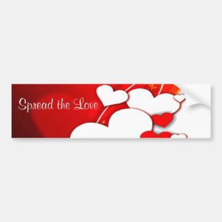 I love You_ Car Bumper Sticker