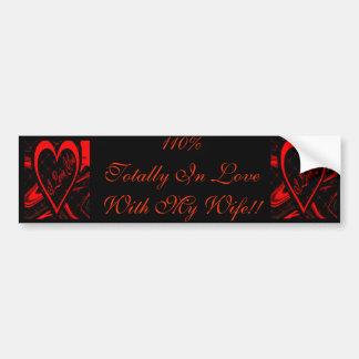 I Love You (Bumper Sticker) Bumper Sticker