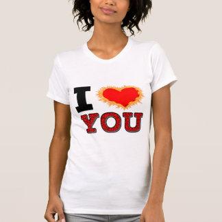 I Love You Burning Desire Tee Shirt