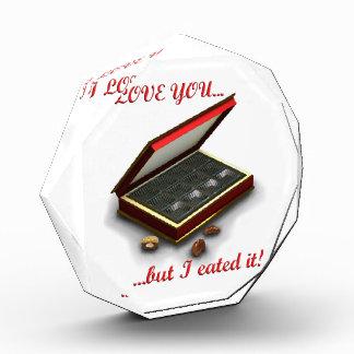 I love you, but I eated it! Award