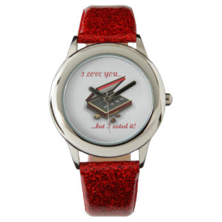 I love you, but I eated it! Wristwatches