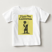 I Love You California Baby T-Shirt