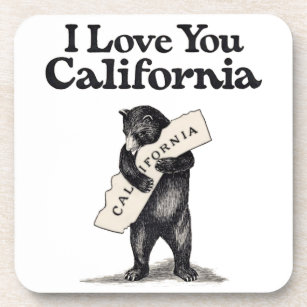 California State Map Drink Beverage Coasters Zazzle