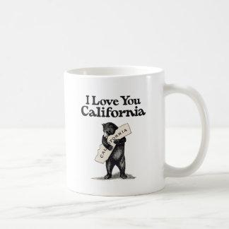 I Love You California Bear Hug Coffee Mug