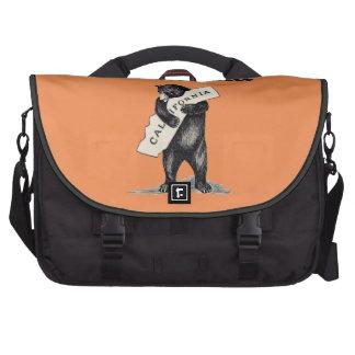 I Love You California Bear Hug Laptop Computer Bag