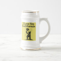 I Love You California Beer Stein