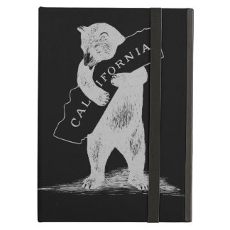 I Love You California--Black and Silver iPad Air Cover