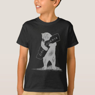 I Love You California--Black and Silver T-Shirt