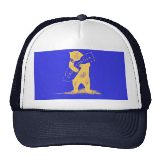 I Love You California--Blue and Gold Trucker Hat