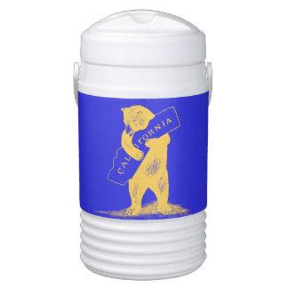 I Love You California--Blue and Gold Igloo Beverage Dispenser