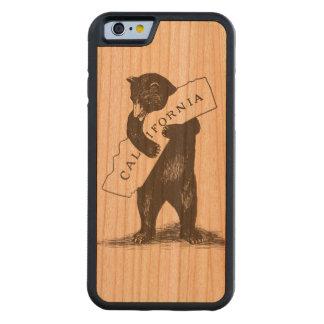 I Love You California Carved Cherry iPhone 6 Bumper Case