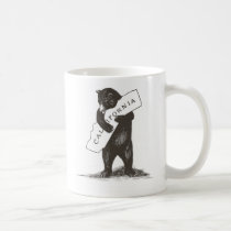 I Love You California Coffee Mug