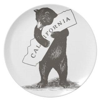 I Love You California Dinner Plate