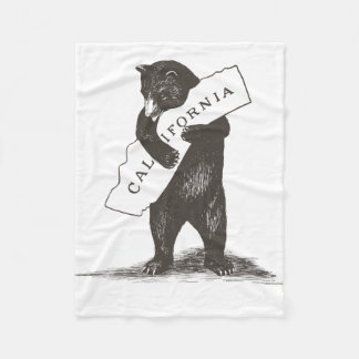 I Love You California Fleece Blanket