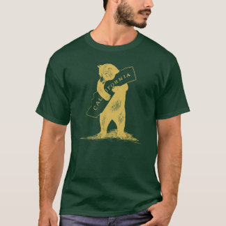 I Love You California--Green and Gold T-Shirt