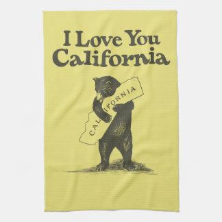 I Love You California Towels