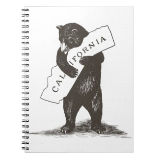 I Love You California Spiral Note Book