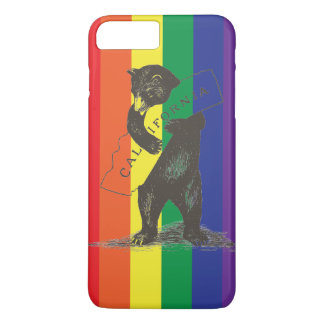 I Love You California--Rainbow iPhone 8 Plus/7 Plus Case