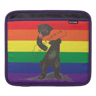 I Love You California--Rainbow Sleeve For iPads