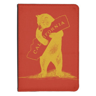 I Love You California--Red and Gold Kindle Touch Case