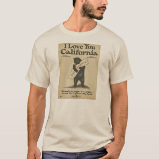 I Love You California Shirt