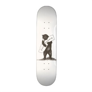 I Love You California Skateboard