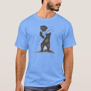 I Love You California T-shirt at Zazzle