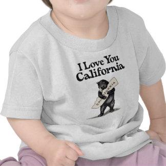 I Love You California Tee Shirt