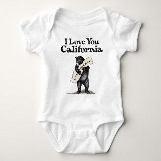I Love You California Tshirt