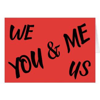 I Love You, card