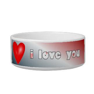 I Love You Cat Bowl
