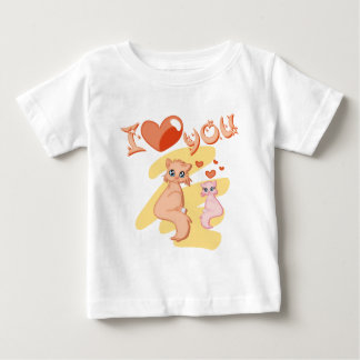 I love you cats - I love you cats Baby T-Shirt
