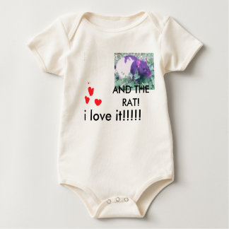 i love you! clothes baby bodysuit