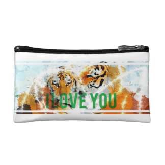 I Love You Cosmetic Bag