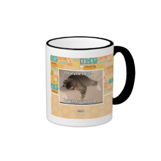 I love you, couch. coffee mug