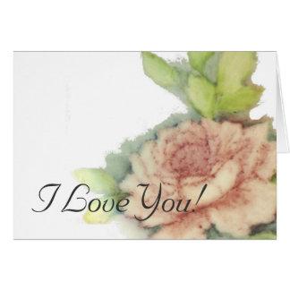 I Love You!-Customize Card