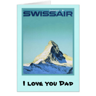 I love you Dad, 16 Card