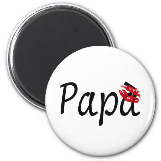I Love You, Dad 2 Inch Round Magnet