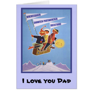 I love you Dad, 6 Card