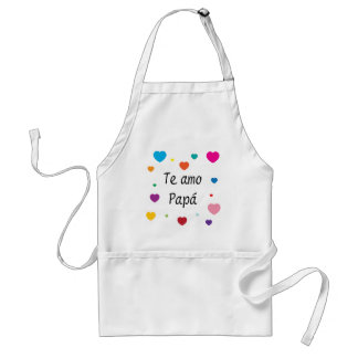 I Love You, Dad Adult Apron