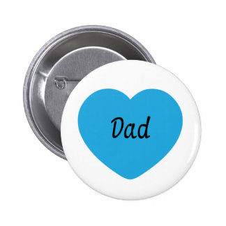 I Love You Dad Buttons