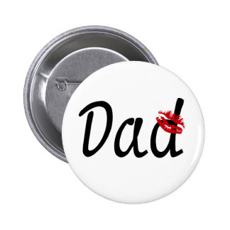 I Love You Dad Pinback Buttons