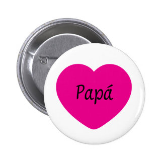 I Love You Dad Pinback Button
